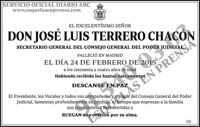 José Luis Terreno Chacón